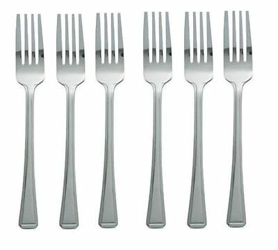 4 X Stainless Steel Cutlery Dining Table Forks Dinner Forks 12pcs Brand New