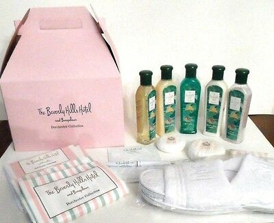 Beverly Hills Hotel And Bungalows  Amenity / Beauty / Spa Kit 14Pc Lot