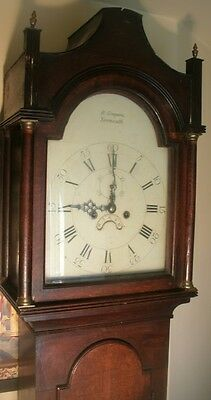 "Antique  Oak Eight Day  "" Yarmouth ""  Longcase / Grandfather Clock"