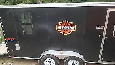 18FT Cargo Trailer Harley Toy Hauler