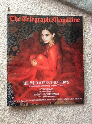 The Telegraph Magazine JENNA COLEMAN August 2017 victoria emmerdale doctor who