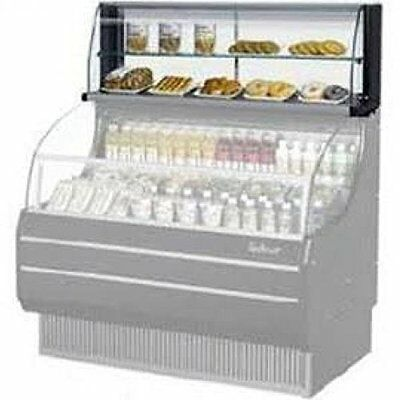 "Turbo Air TOMD50HB 50"" Non Refrigerated Top Case for Open Display Merchandise..."