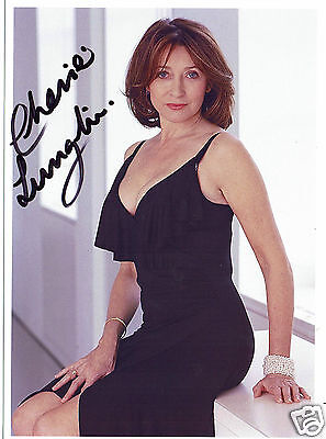 Cherie Lungh British Actress  Hand signed 7 x 5  Photograph