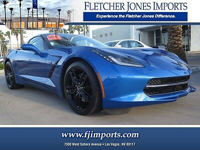 2015 Chevrolet Corvette Z51 Coupe 2-Door 2015 Chevrolet Z51 2LT