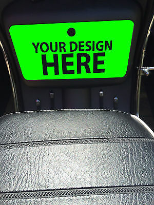 Scomadi Glove Box Sticker Wrap Decal ANY design ANY colour ANY image or text