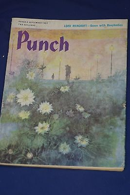 Punch Magazine 6 September 1967