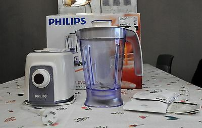 Philips Viva Collection Blender - Comme neuf (double emploi)
