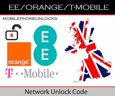 EE / ORANGE / T-MOBILE - Apple iPhone Unlock Code - ALL MODELS SUPPORTED