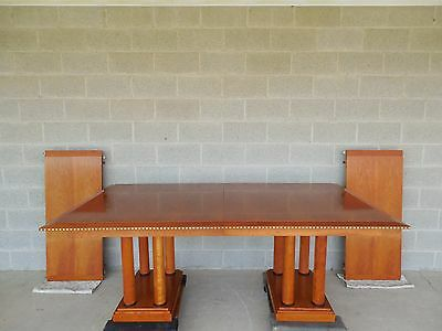 Councill Craftsman Biedermeier Style Dining Extension Table