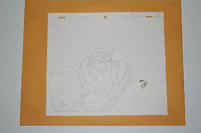 Original Animation Production Drawing from Superman
