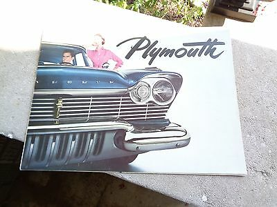 1957 Plymouth Full Line Brochure Poster mx917-HNCEAW