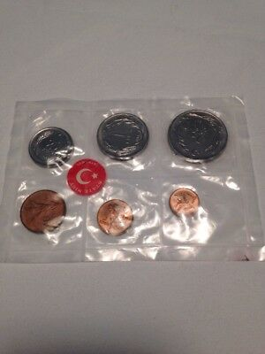 Lot of 6 Various Coins from Istanbul, TURKEY