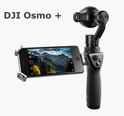 DJI Osmo Plus + Handheld 4K Camera and 3-Axis Gimbal