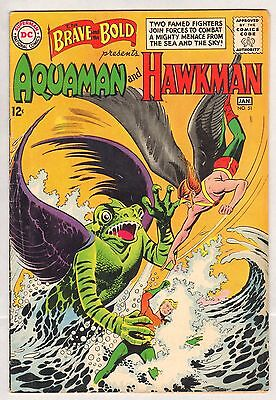 Brave and the Bold #51 (FN+) (1964, DC) Aquaman - Hawkman Team-Up!