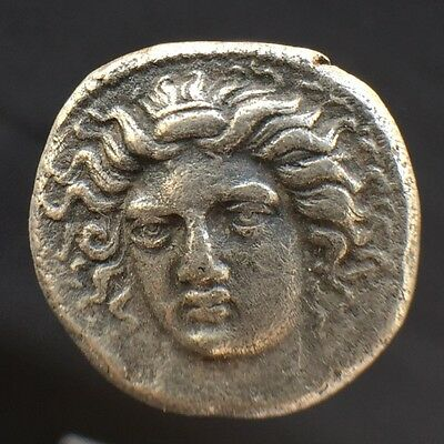 Larissa, Thessaly Silver Drachm 4th century BCE Beautiful and Rare Ancient Greek