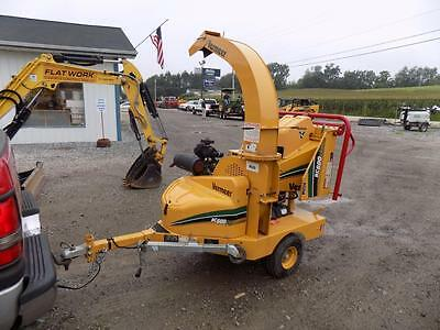 2013 Vermeer Bc600Xl Wood Chipper, 182 Hours, Well Maintained, Rental Unit