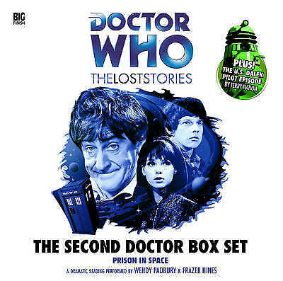 The Second Doctor Box Set (Doctor Who: The Lost Stories) (Audio C. 9781844354535