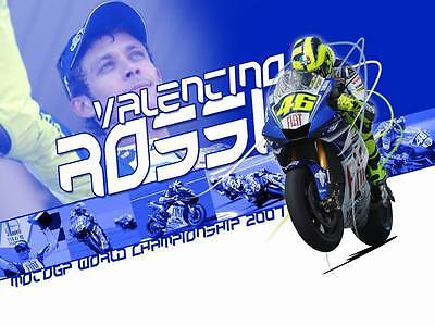 "TY07405 Valentino Rossi - NO 46 MotoGP Riders Star Sport 32""x24"" Poster"