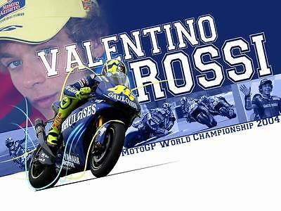 "TY07400 Valentino Rossi - NO 46 MotoGP Riders Star Sport 32""x24"" Poster"