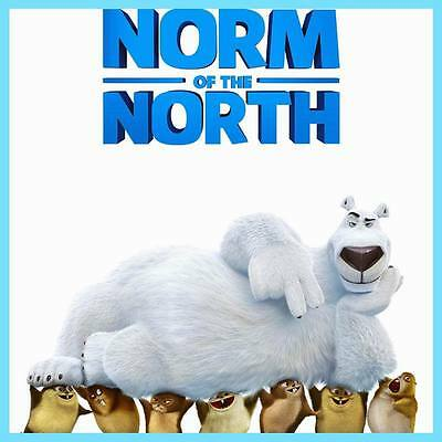 "DY00780 Norm of the North 2016 - Animated Comedy Adventure 24""x24"" Poster"