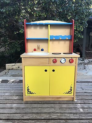 Kids Wooden Kitchen Furniture
