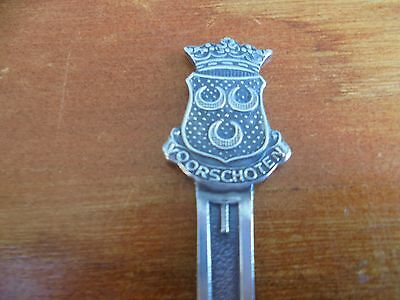Vintage/Antique Dutch Voorschoten sola 90 Silver Plated Letter Opener