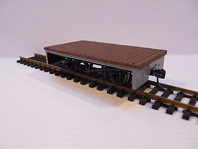 Narrow gauge Gn15 (1:24 scale) flat wagon. Also suit On30 or O:16.5 lot 1 of 2