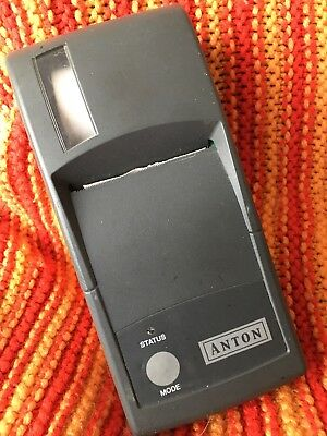 Anton Flue Gas Analyser printer