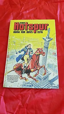 THE HOTSPUR BOOK FOR BOYS 1976 (Excellent condition)  Free P&P