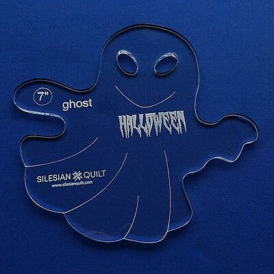 Quilting Template: Halloween Ghost 7""
