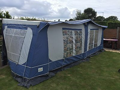 PYRAMID TUSCANY CARAVAN AWNING 1025-1049 SIZE 16 in blue ...