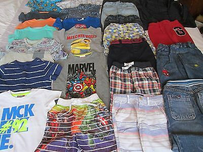 Boys 24 Piece Summer Bundle Of Clothes, Age 3-4 Years