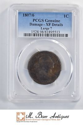 1807 Draped Bust Large Cent - PCGS Genuine *YC297