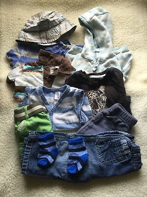Pre-owned/3-6 Month/ Boys Clothes Bundle B12