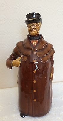 Royal Doulton Kingsware The Coachman Figural Whiskey Flask A/F
