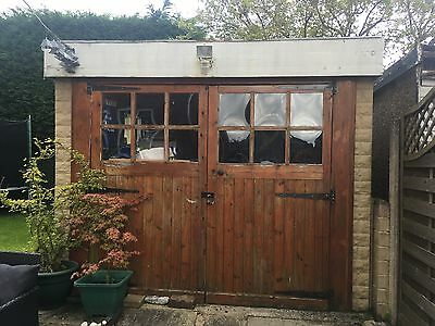 Used prefab garage. Concrete panelled. 17ft x 9ft.  Collection only