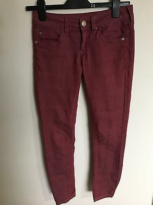 Ladies Skinny Jeans SoulCal&Co Size 6 Perfect Condition