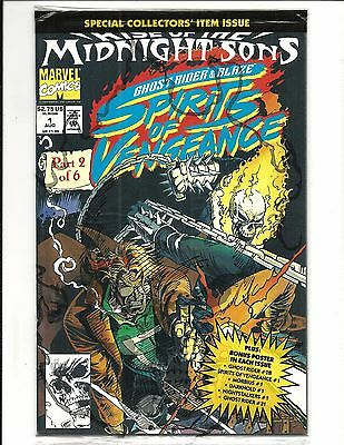 Ghost Rider & Blaze: Rise Of The Midnight Sons # 1 (Sealed, Aug 1992 ), Nm