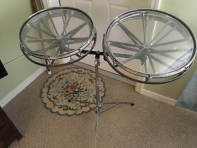 """Roto Toms, Rototoms REMO CHROME 16"""" and 18"""" - excellent condition vintage rare"""