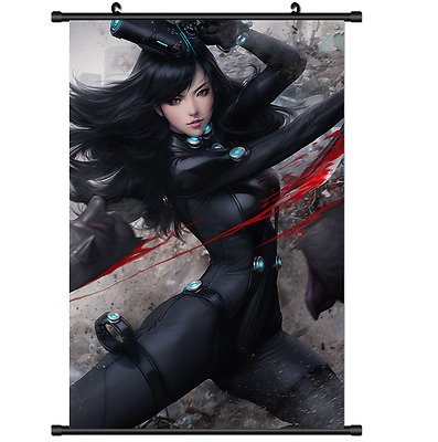 Anime GANTZ Wall Poster Scroll Home Decor cosplay 2920