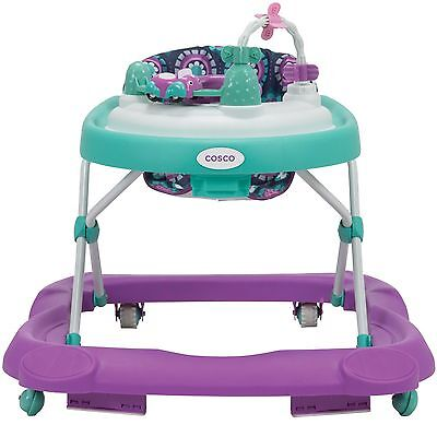 Beep Beep Midnight Garden Baby Activity Walker NEW Adjustable Seat with Toys