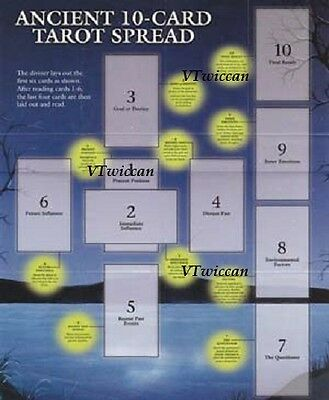 * Tarot Layout Guide Celtic Cross Layout Wiccan Pagan Metaphysical