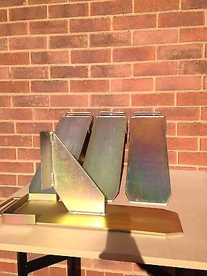 4 x Original Acrow Prop Brackets Strong Acro Attachments Mate Support Boys