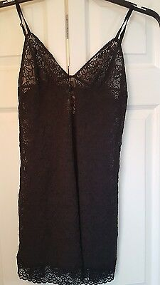 New Victoria's Secret Babydoll Teddy Lingerie Mini Dress Size Black XL
