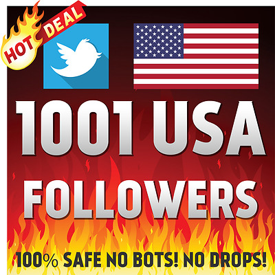 1001 Hq Usa Twitter Followers-Instant Delivery Non Drop Guarantee Twitter-Follow