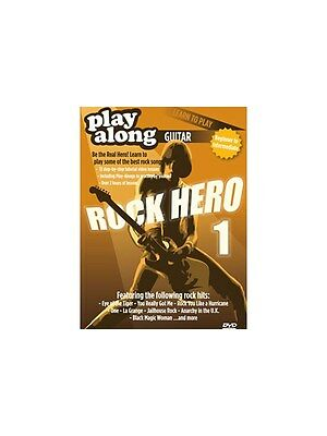 Orjan Gill Play-Along Guitar Learn To Play Rock Hero DVD 1 GUITAR MUSIC DVD