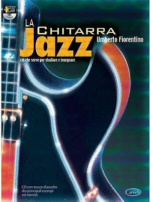 Umberto Fiorentino La Chitarra Jazz Learn to Play MUSIC BOOK & CD Guitar