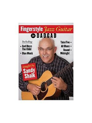 Sandy Shalk Fingerstyle Jazz Guitar In DADGAD Learn to Play MUSIC DVD Guitar