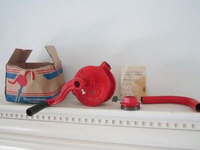 Hand Crank Oil Fuel Pump for drum barrel (never used)