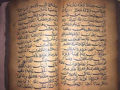 Sultanate period hand Written Quran manuscript in BIHAR SCRIPT 550 years old
